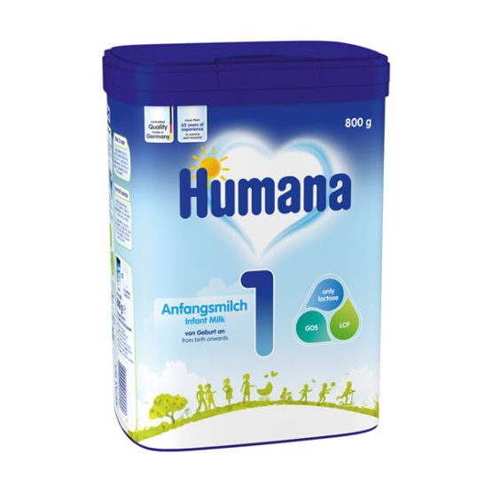 Humana 1 Anfangsmilch 800 гр с 0+ мес