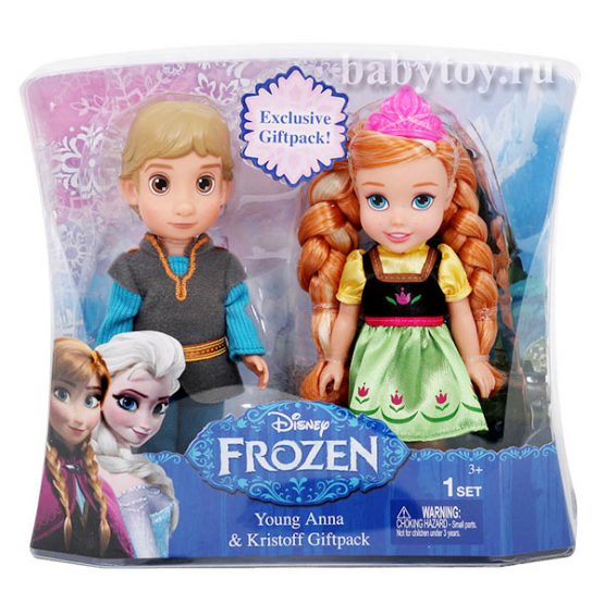 Набор кукол Frozen Young Anna & Kristoff